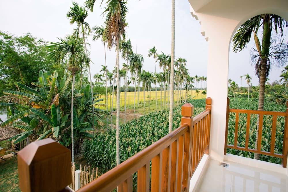 Deluxe Triple Room, 3 Bedrooms, Garden View - Balcony