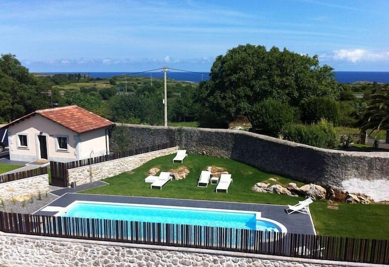 Hotel Villa Marrón, Llanes, Vanjski bazen