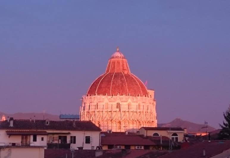 Alla Torre con Vista , Pisa, View from Hotel