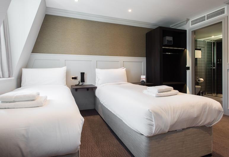 莫布里酒店, 倫敦, 標準雙床房, 客房