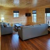 Deluxe Kır Evi, 2 Yatak Odası, Göl Manzaralı - Oturma Alanı