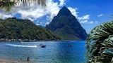 Nuotrauka: Sea Piton View Apartment, Soufriere