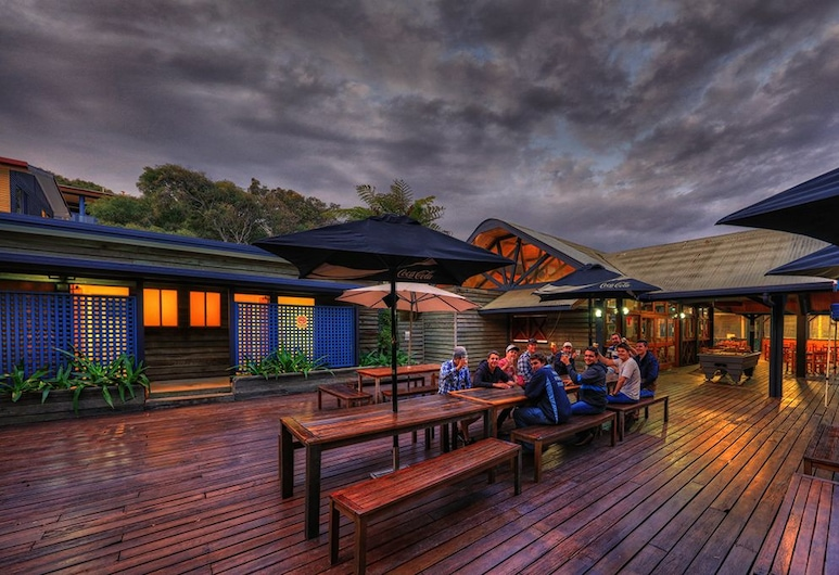 Fraser Island Retreat, Freizera sala, Āra ēdināšanas zona