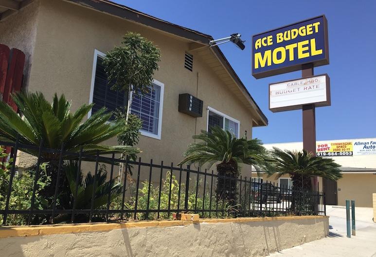Ace Budget Motel, סן דייגו, חזית המלון