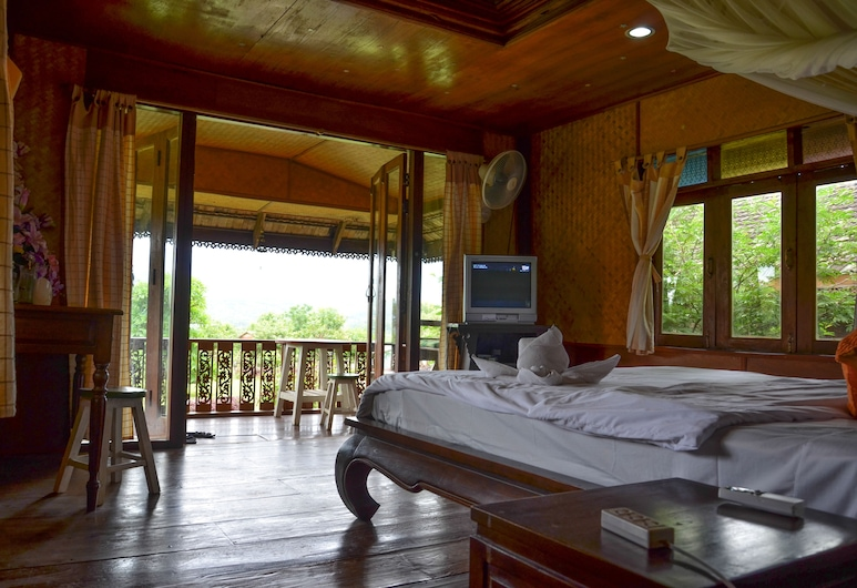 Romantic Time Mountain Resort, Pai, One Bedroom House, Hosťovská izba