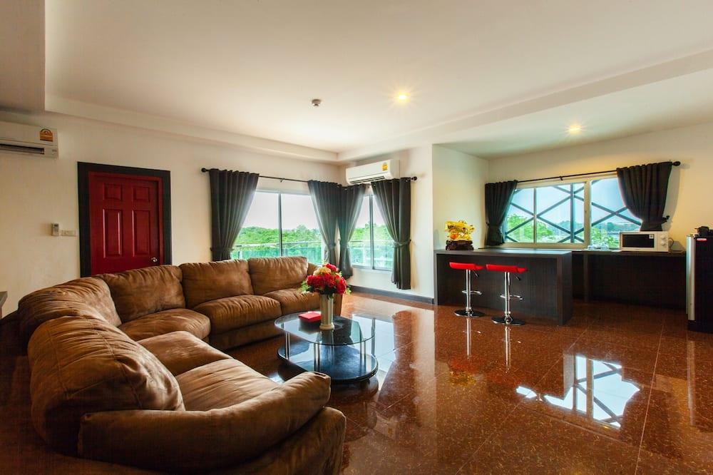 Lake View Suite - Oturma Alanı
