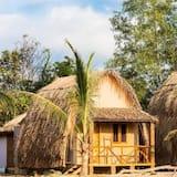 Deluxe Bamboo Bungalow - Balkoni