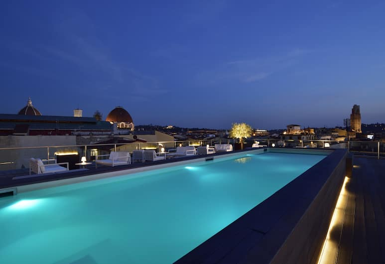 Glance Hotel In Florence, Florence, Outdoor Pool