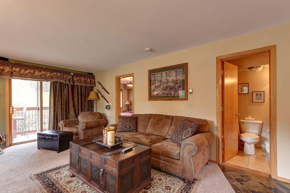 Condominio, 2 habitaciones, vista a la montaña (Cinnamon Ridge Condo III, CRJD) - Sala de estar