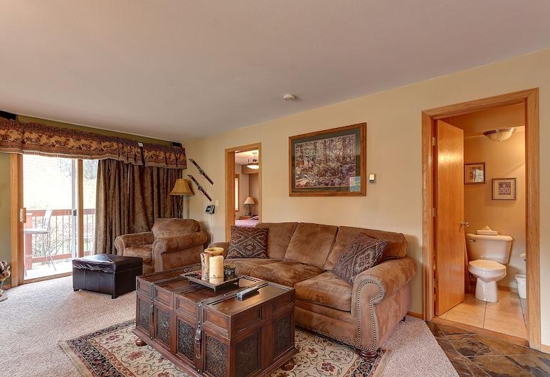 Cinnamon Ridge III 2 Bed 2 Bath, Keystone, Apartman, 2 spavaće sobe, pogled na planinu (Cinnamon Ridge Condo III, CRJD), Dnevni boravak