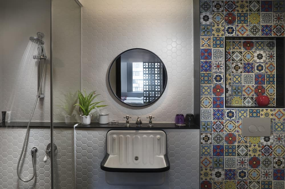 Двухместный номер с 1 двуспальной кроватью (Cozy) - Ванная комната