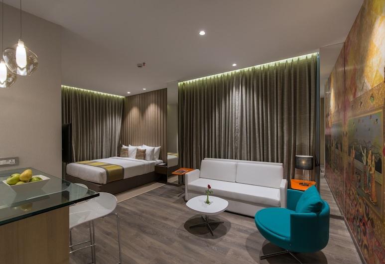EASTIN RESIDENCES VADODARA- A FIRST-CLASS BOUTIQUE HOTEL, Vadodara, Studio (Studio King Room), Vue depuis la chambre