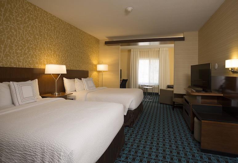 Fairfield Inn & Suites Durango, דורנגו, סוויטה, מספר מיטות, חדר אורחים