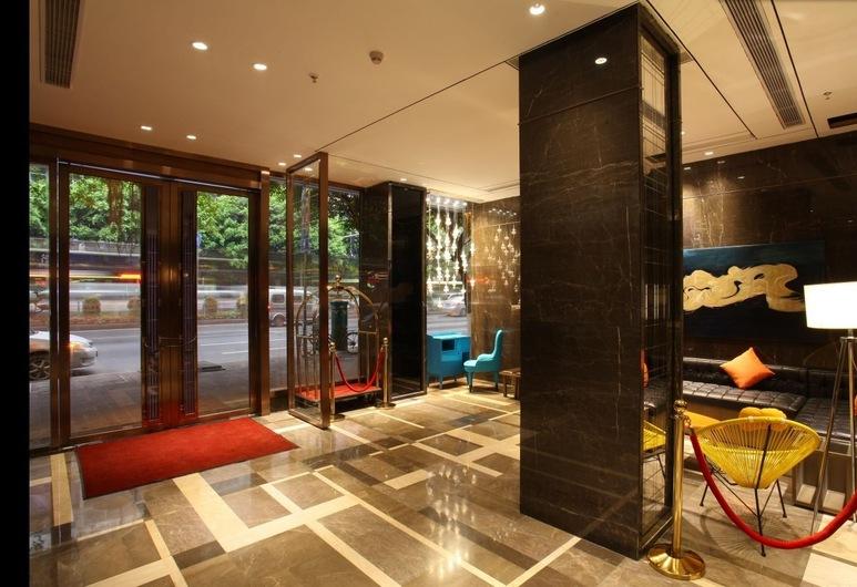 迎商酒店 (廣州中山八地鐵站店), 廣州市, 入口