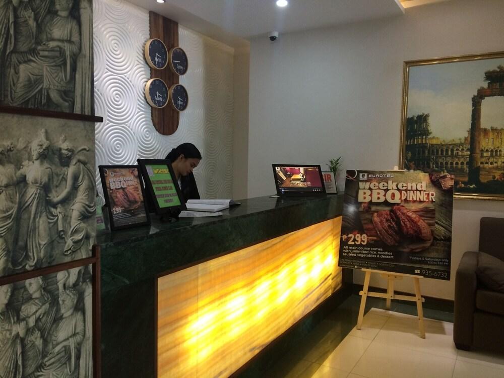 Eurotel Vivaldi Araneta Quezon City Interior Entrance