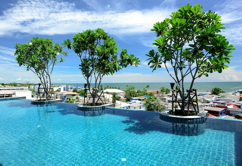 Hisea Huahin Hotel, Hua Hin, Infinity Pool