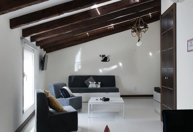 Roisa Suites, Madrid, Penthouse, 1 kamar tidur (6 pax), Ruang Keluarga