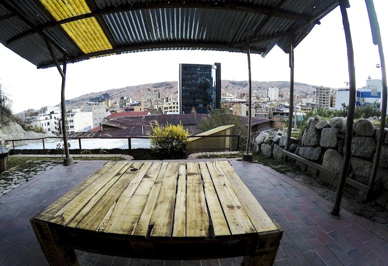 Bunkie Hostel, La Paz, Garten