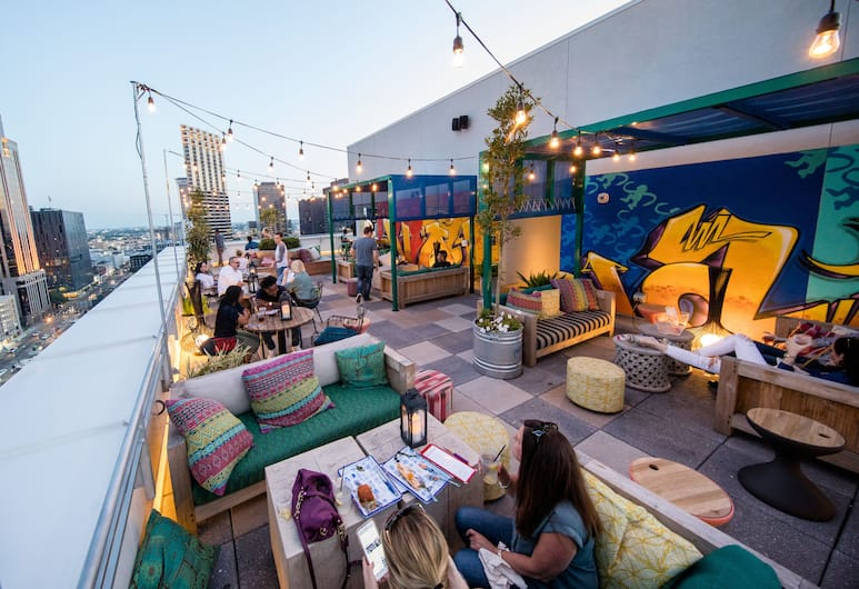 The Troubadour Hotel New Orleans, Tapestry Collection by Hilton, New Orleans, Terrace/Patio