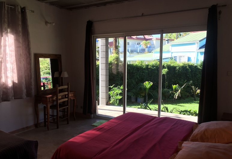 Villa Platane, Cilaos, Rodinná vila, 5 spální, výhľad na záhradu, orientovaný smerom k horám, Izba