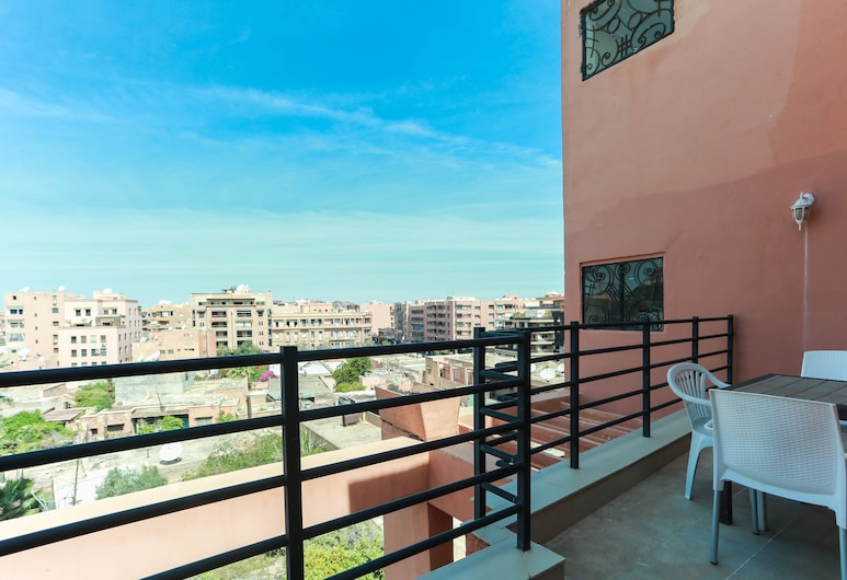 達蓋里茲公寓, 馬拉喀什, 家庭公寓, 2 間臥室, 露台, 陽台