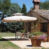 Romantická rekreačná chata, 1 spálňa, kuchyňa, výhľad na záhradu - Terasa