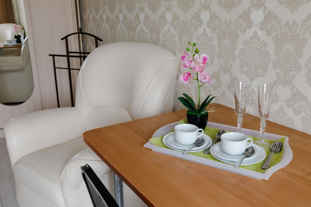 Lúxusherbergi með tvíbreiðu rúmi - Stofa