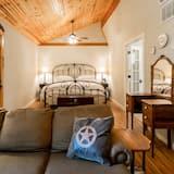 Luxe huisje, 1 slaapkamer (Alamo Springs Country Cabin) - Kamer