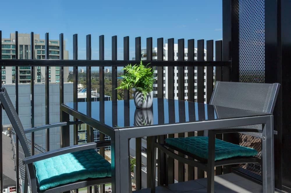 行政公寓, 1 間臥室, 陽台, 城市景觀 - 陽台
