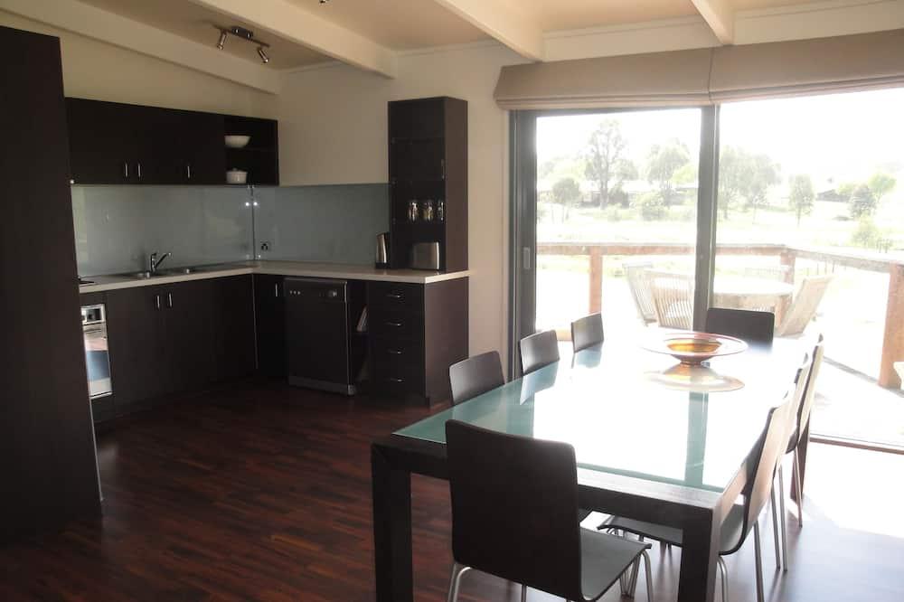 Standaard appartement, 1 slaapkamer, uitzicht op bergen (Oak) - Woonruimte
