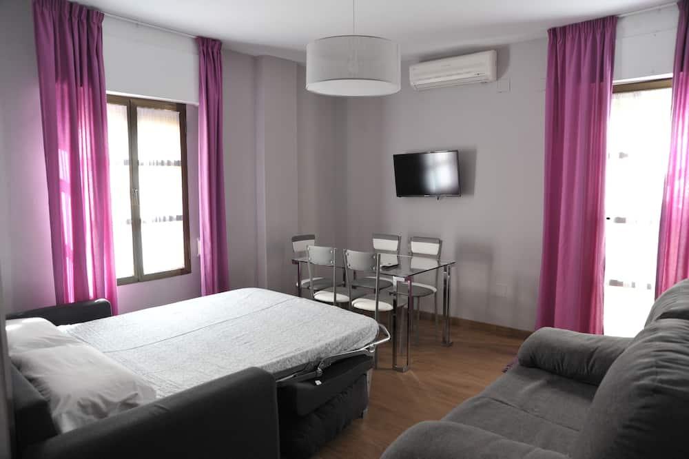 Apartment, 1 Bedroom, Terrace (Atico B) - Living Room