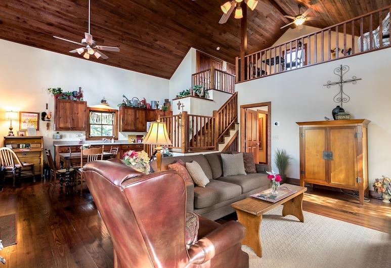 Honey Creek Cottage, Fredericksburg, Obývacie priestory