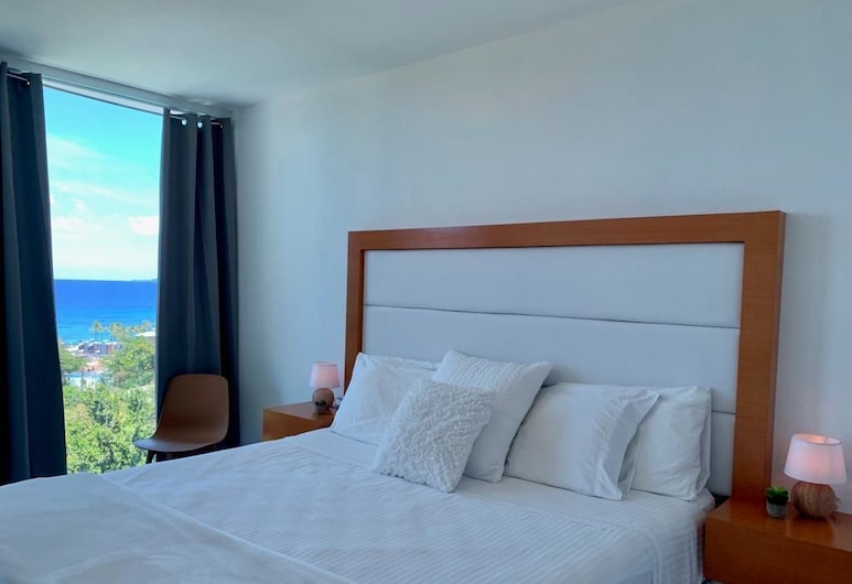 Serenity Rincon Guesthouse, Rincon, Panoramic Suite, 1 King Bed, Ocean View, Guest Room