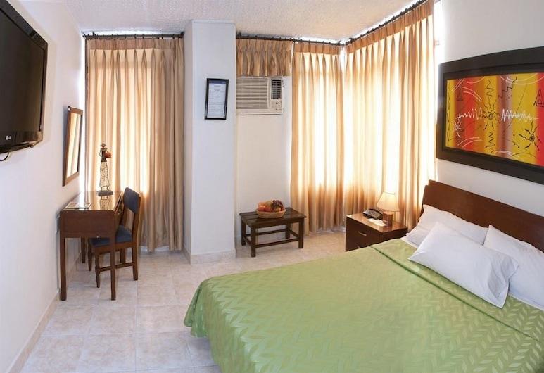 Hotel El Pilar, Bucaramanga, Jednolôžková izba typu Economy, 1 dvojlôžko, súkromná kúpeľňa, Hosťovská izba