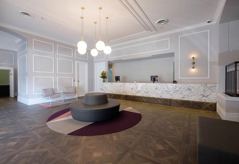 The Ultimo, Haymarket, Interior de la entrada