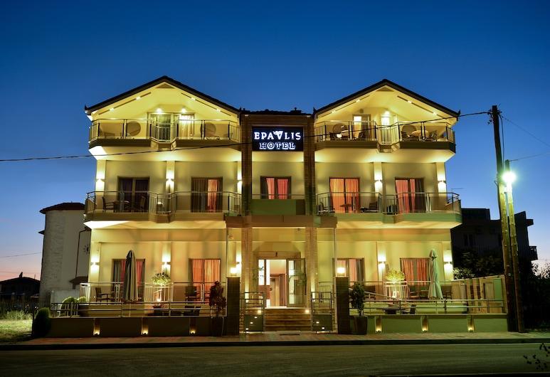 Hotel Epavlis, Katerini, Pohľad na hotel