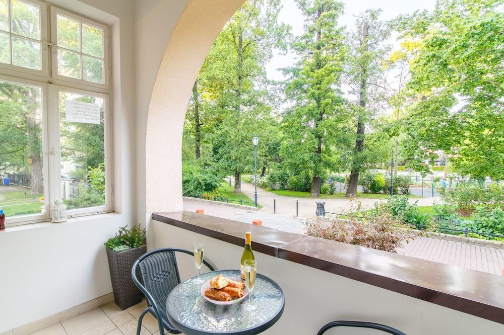 Park Apartment (Parkowy) Happy Hours (address: Parkowa 12/1) - Balkon