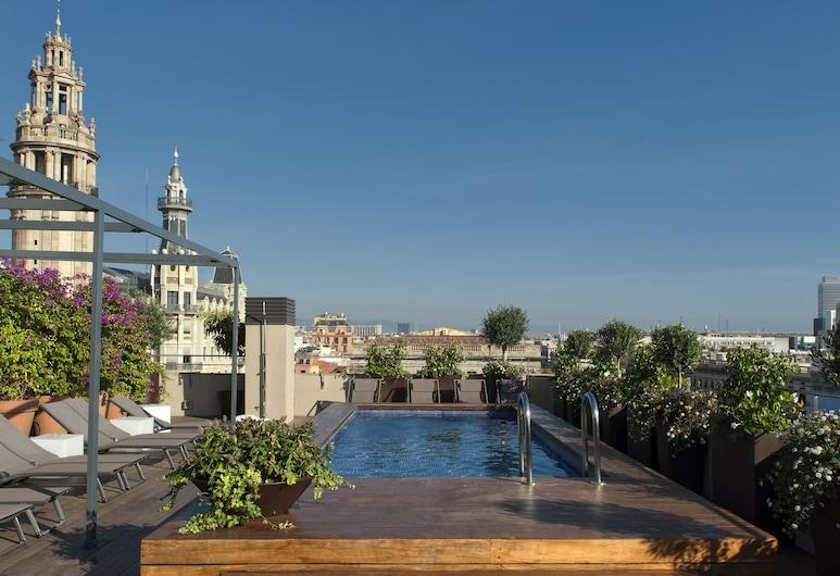 Duquesa Suites, Barcelone, Véranda