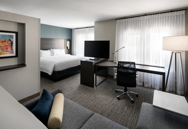 Residence Inn by Marriott Oklahoma City Northwest, Oklahoma City, Studio, 1 King Bed with Sofa bed, Guest Room