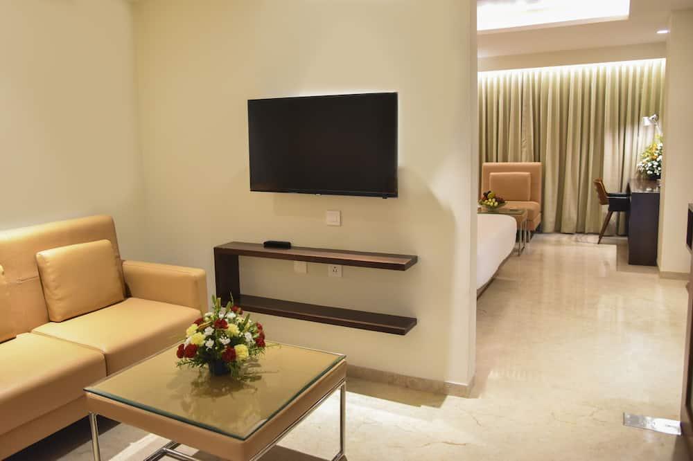 Luxury-sviitti, 1 makuuhuone, Tupakointi sallittu, Kaupunkinäköala - Vierashuone