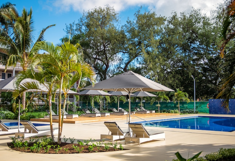 Tanoa International Dateline Hotel, Nuku'alofa, Vonkajší bazén