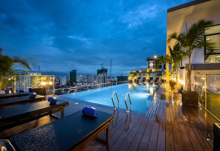 Mansion 51 Hotel & Apartment, Phnom Penh, Rooftop Pool