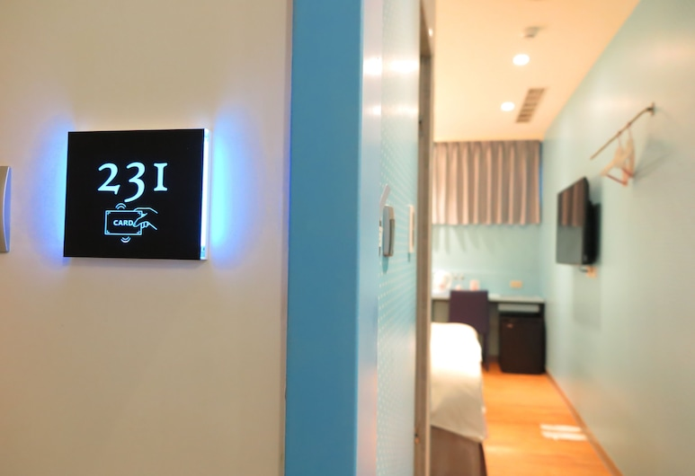 191 hotel Ningxia, Taipei, Business Double Room, Non Smoking, Bilik Tamu