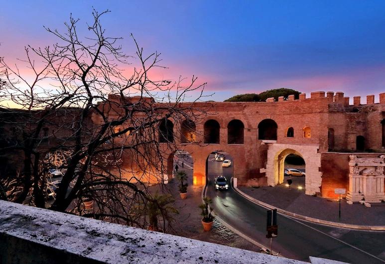 威尼託大街羅來酒店, 羅馬, 豪華雙人房, 露台, 陽台