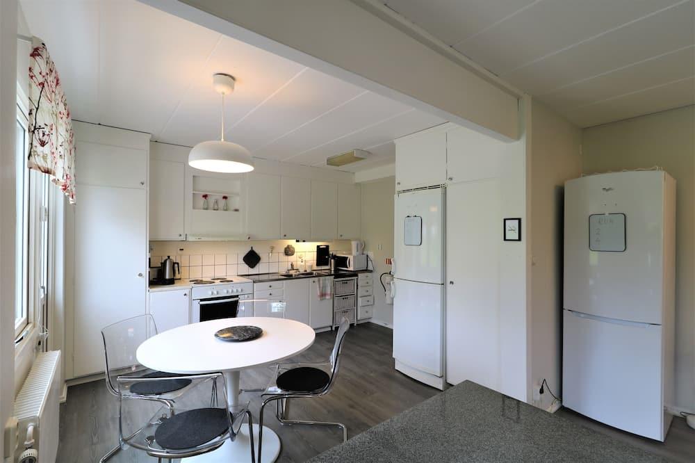 Habitación individual Confort, vista al jardín, con vista al jardín - Cocina compartida