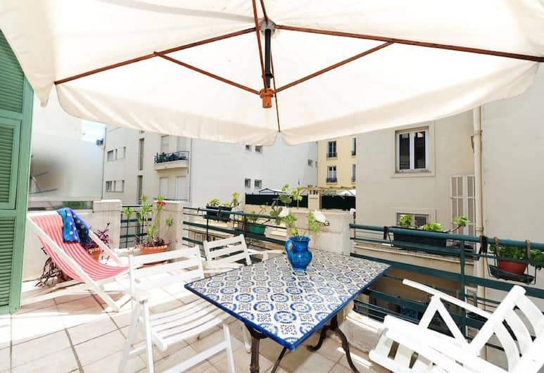 Appartement La Terrasse - 5 Stars Holiday House, Nice, Terrasse/patio