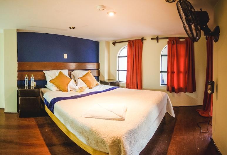 Loki Hostel Lima, Lima, Cuarto privado matrimonial, Svečių kambarys