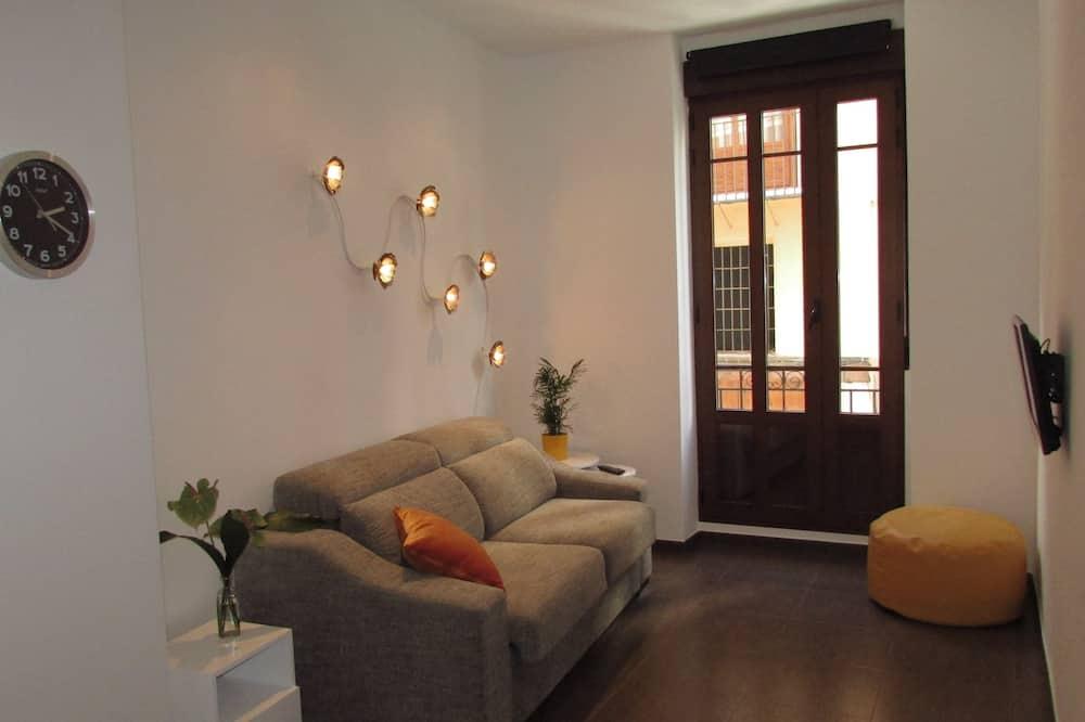 City appartement, 1 slaapkamer - Woonkamer