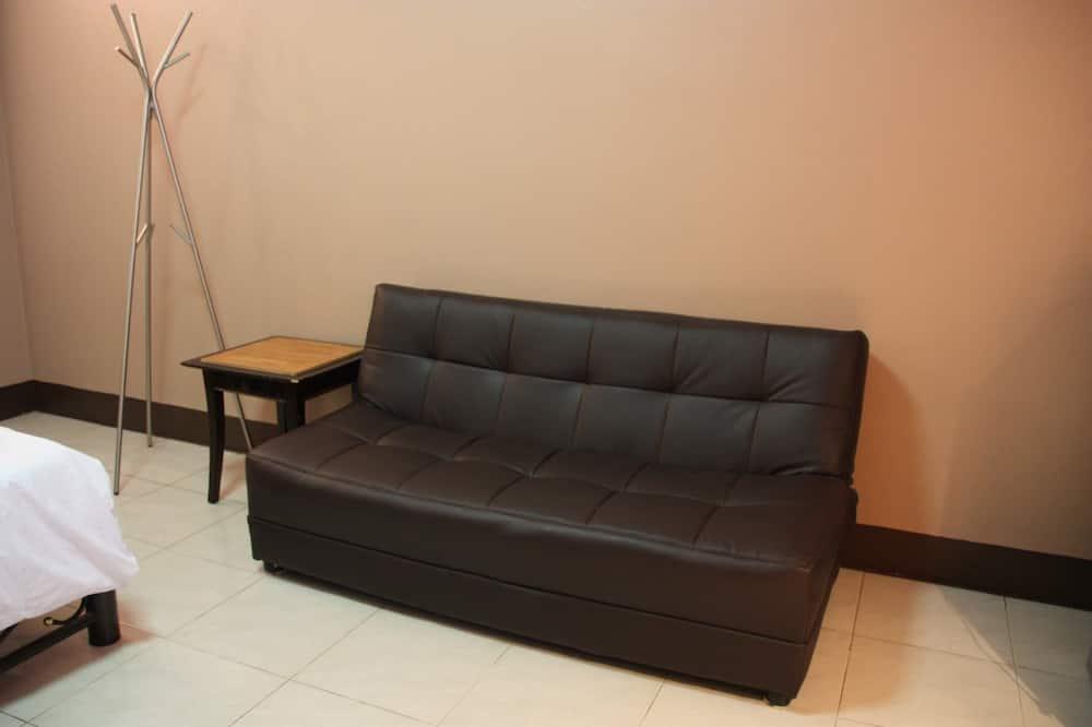 غرفة ديلوكس مزدوجة - منطقة المعيشة