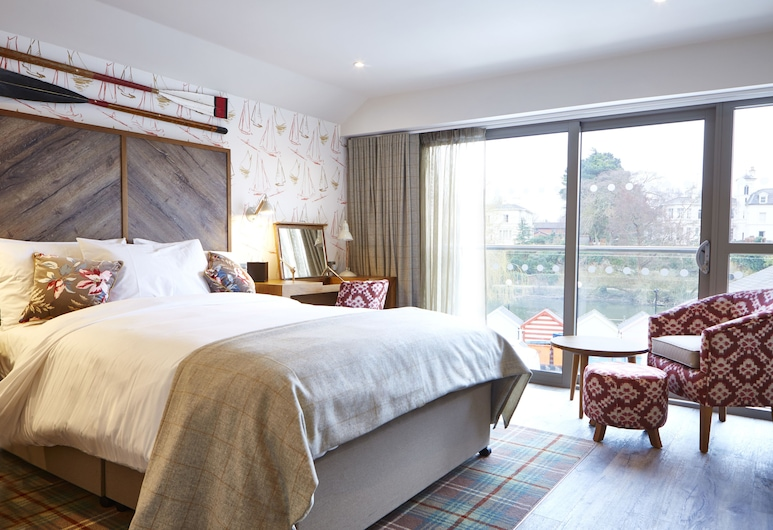 The Boathouse & Riverside Rooms, Chester, Double Room, Guest Room